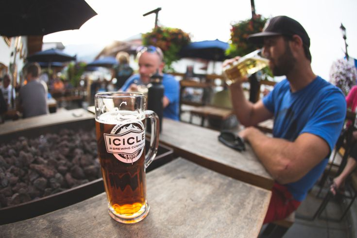 Icicle Brewery is a convenient stop after hiking along the Wenatchee River or anywhere near Leavenworth. (Courtesy of Icicle Brewery)
