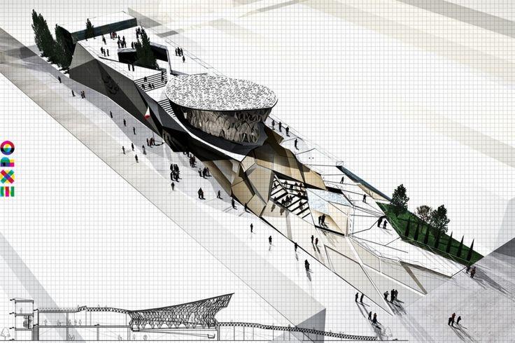 Competition Entry: 'My Iran' (Expo Milan 2015) / Akaran Architects & IRANBON