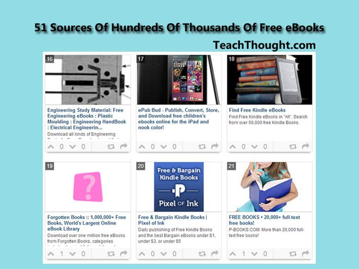51 Sources Of Hundreds Thousands Free EBooks 2013 July 11