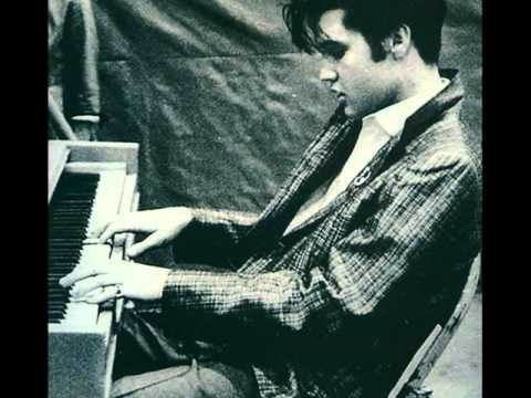 elvis at the piano