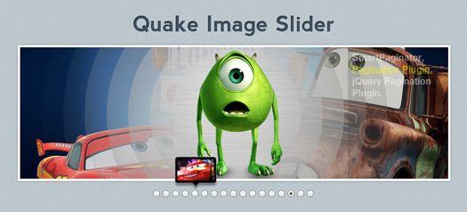 jQuery Image / Content Slider Plugin: Quake Slider