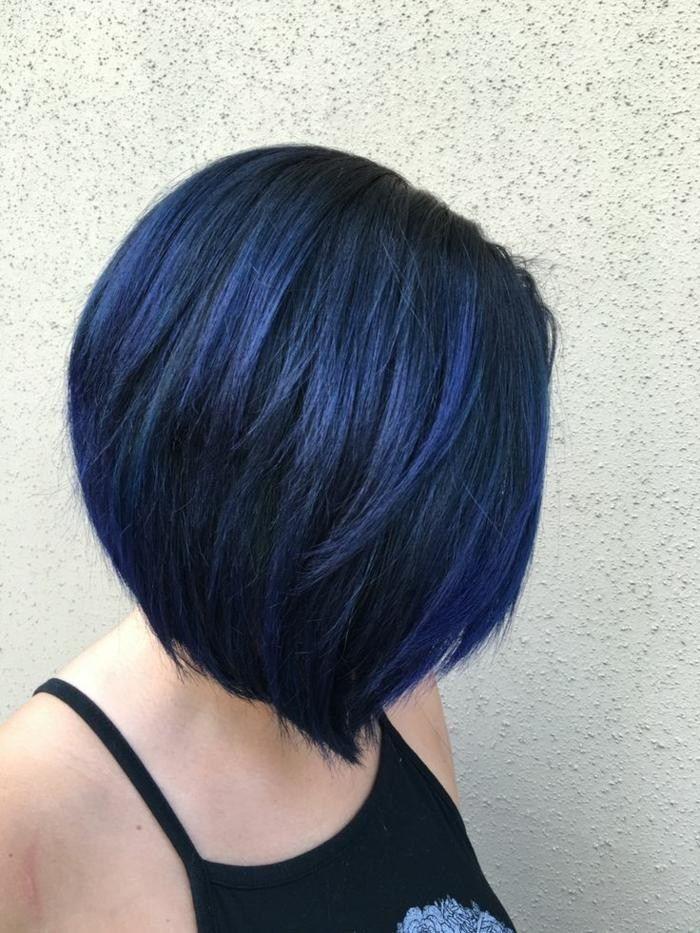 1001 Ideen Fur Coole Frisuren Zum Thema Blaue Haare Damen