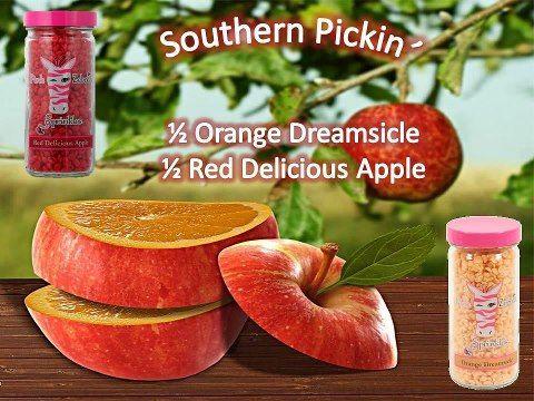 Southern Pickin' Pink Zebra sprinkles recipe www.sprinkleyourbliss.com