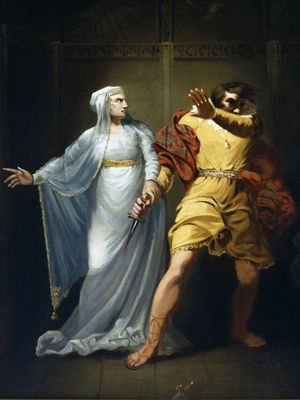 an analysis of the tragedy in macbeth a play by william shakespeare It is hard to imagine a world without shakespeare macbeth, set primarily in scotland characters in the play three witches, the weïrd sisters.