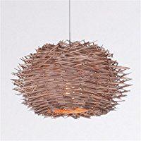 Amazing Rattan Lampe Pendelleuchten S dostasien Wohnzimmer Vogel Nest Restaurant pastorale Bauernhaus Hot Pot Shop Bar Beleuchtung