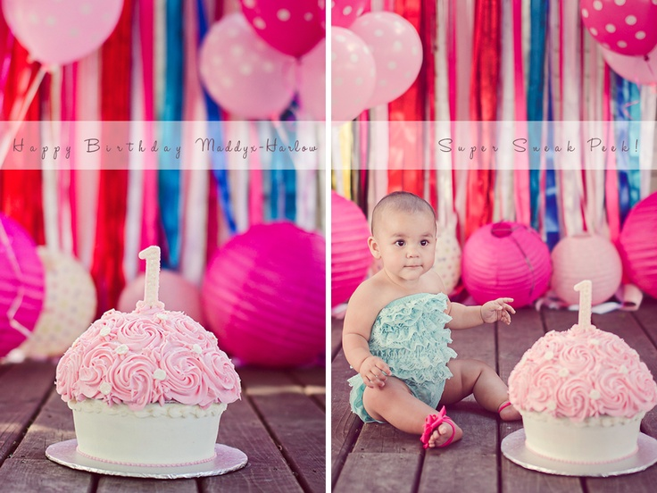 First Birthday Ideas Cake Smash First Birthday Pinterest