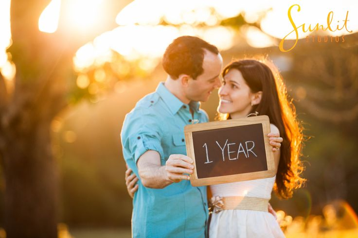 Celebrate your One Year Wedding Anniversary with a photo-shoot!  Photography by Sunlit Studios