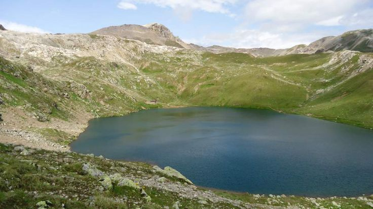 Refuge at the lake (at 2606 meters above the sea) on Monte Breva.