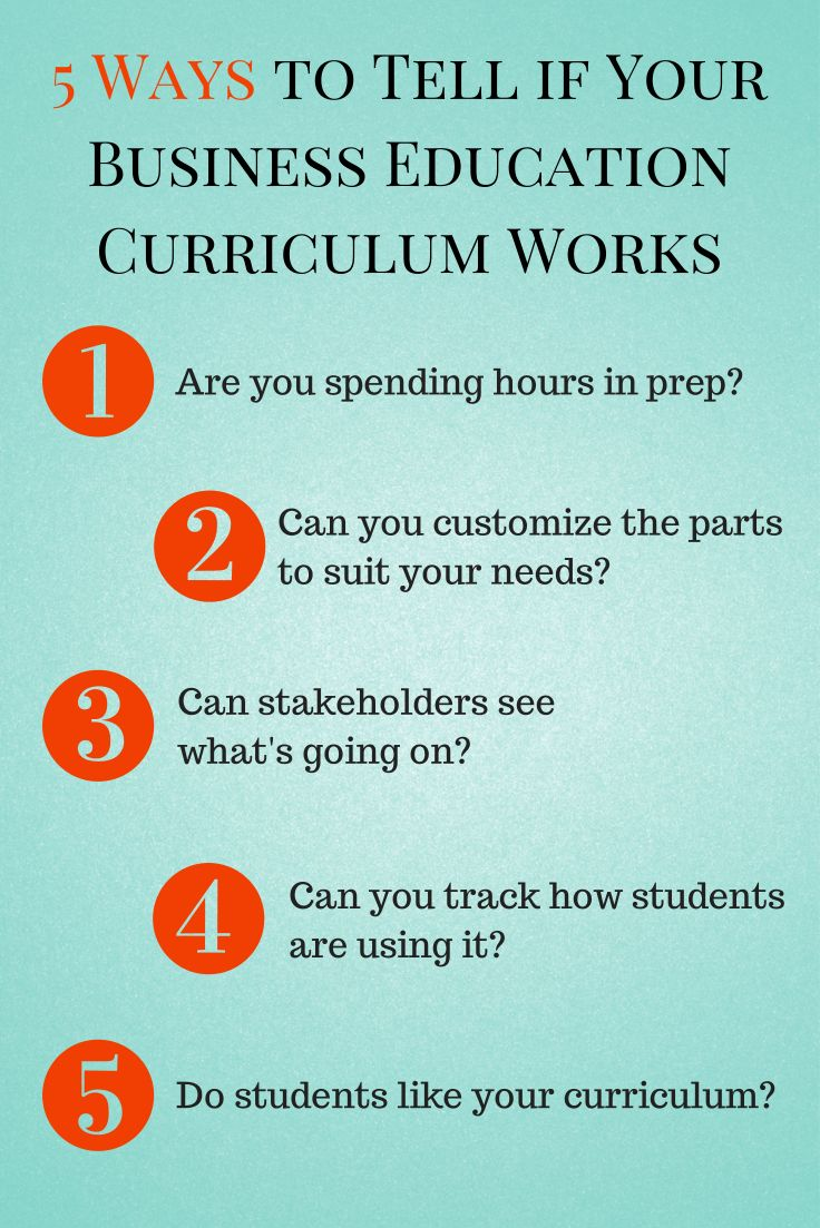 5 Tests for your Business Education Curriculum from http://blog.aeseducation.com/2014/05/business-education-curriculum-tests/ #BusEdu