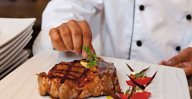 Even turf & turf if that's what you're into. [Steakhouse] Featured on: #CarnivalPride #CarnivalLegend #CarnivalMiracle