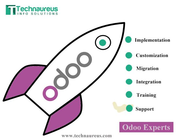 Odoo Implementation | Customization | Training | Support  We offer the following:  Odoo Implementation.  Odoo Customization.  Odoo Migration from old versions to higher.  Odoo Functional and technical training.  Odoo Onsite and offshore support.  Odoo Server Maintenance.  Odoo Financial training.   www.technaureus.com