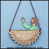 Paul in Basket bible Craft  Dear Lord, thank you for loving us and helping us realize that we can change and help our friends, too. Even when others are mean to us, you help us remember that we can make a difference. Amen.