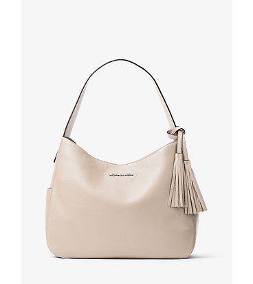 Ashbury large leather shoulder bag by MICHAEL Michael Kors.