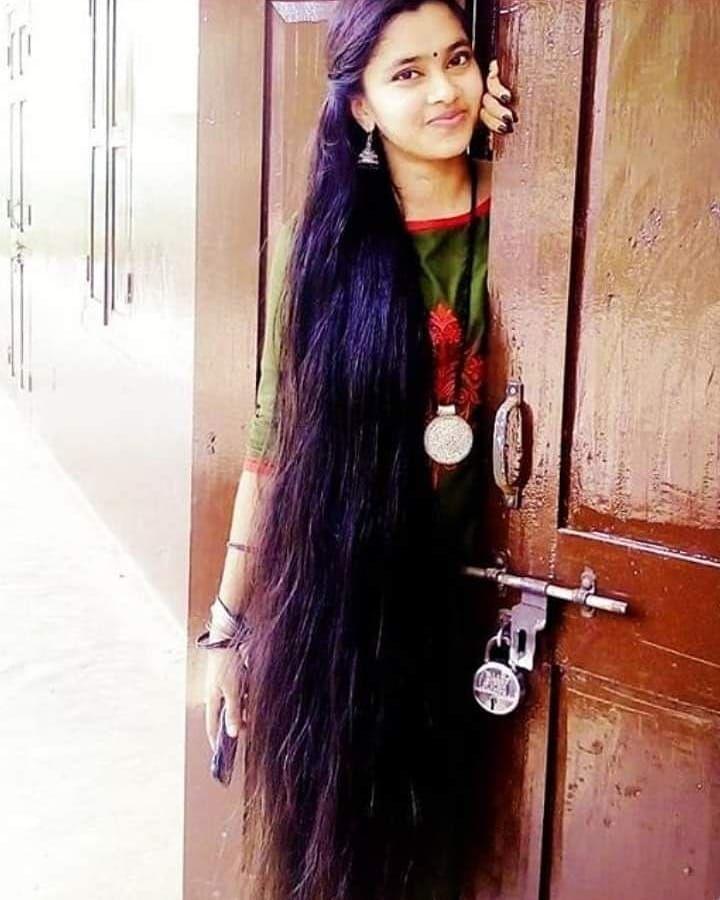 Image May Contain 1 Person Long Shiny Hair Long Hair Styles Long Indian Hair