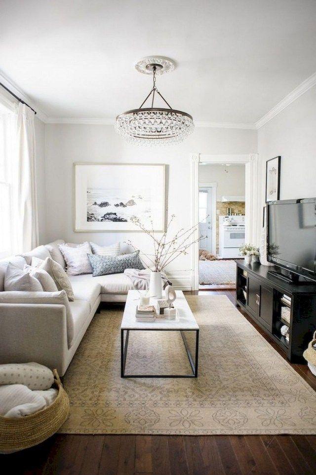 Small Living Room Rug Size Small Living Room Decor Living Room Decor Apartment Small Apartment Living Room