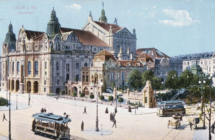 Das alte Opernhaus (um 1910)