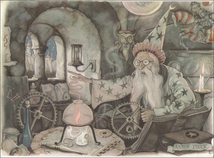 (Efteling) Anton pieck - Magier