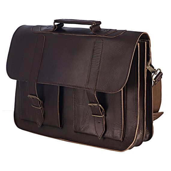 Welcome to Nickys Leather!  Check out all the Messenger / Laptop Bags here! $145.00