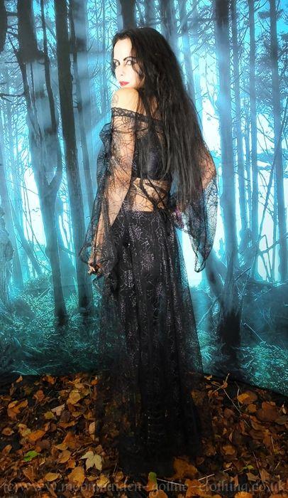 Shelobia Overdress by Moonmaiden Gothic Clothing UK