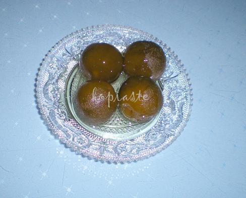 Nerantzi Glyko (Bitter Orange Spoon Sweet)