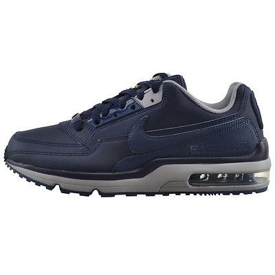 Nike Air Max Ltd 3 Mens 810880-440 Obsidian Grey Athletic Running Shoes Size 9.5