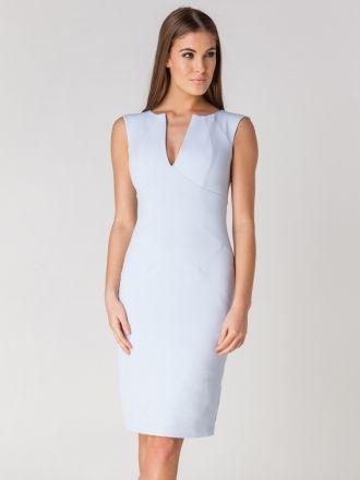 Hybrid Fashion Irini plunge neck dress