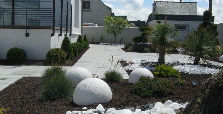 jardin minéral #boules #mineral #basileek