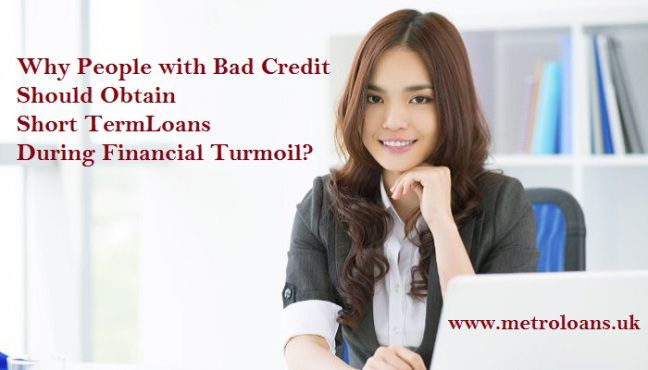 Short-term loans offer an efficient opportunity to borrow money during difficult financial time. They are also available for the bad credit people with easy repayment terms. To know more, visit: http://goo.gl/I70LWw