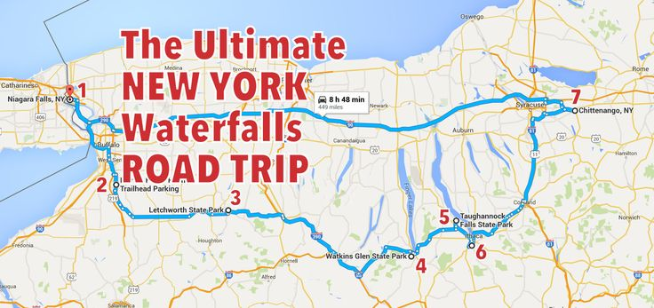 The Ultimate New York Waterfalls Road Trip Is Right Here – And You'll Want To Do It Who's ready to see some of New York's most epic waterfalls?!
