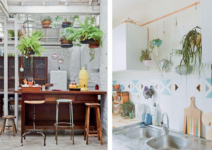 La Fabrique à Déco: Des plantes dans la cuisine