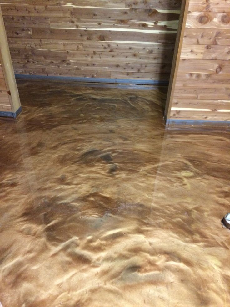 Another Dynamic Epoxy Floor By Sierra Concrete Arts.