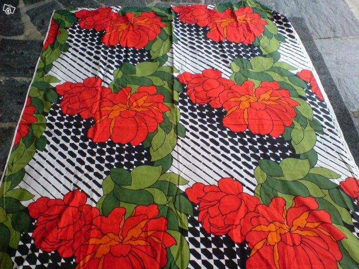 Fin-Helen, Viola, vintage cotton fabric