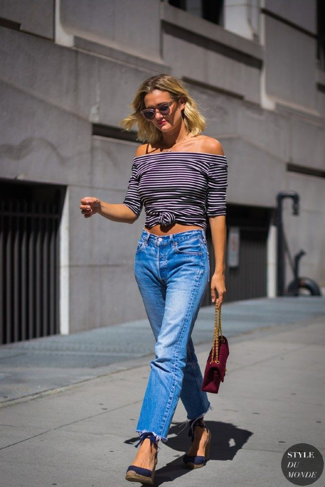 Awesome summer french street style looks idea (39)