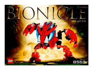 Tahnok 8563 - LEGO Bionicle - Building Instructions - LEGO.com