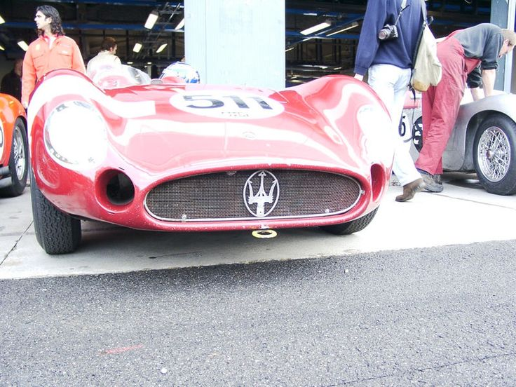 Maserati 1950 @ Ferrari Day 2007