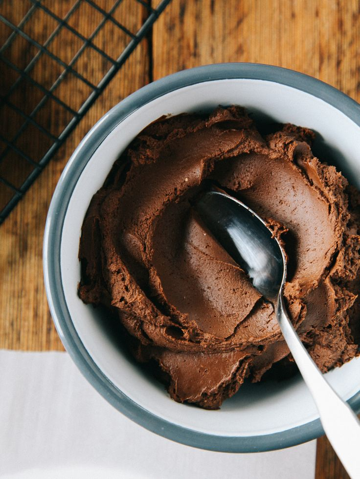 Chocolate-coconut frosting