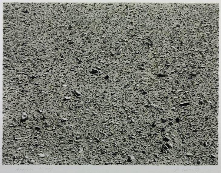 Desert Vija Celmins Date: 1975 Style: Photorealism Genre: landscape
