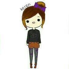 My edit My sister  Cute cartoon #cute #cartoon #girl #keren