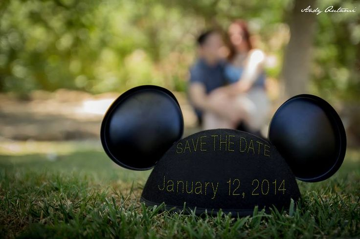 My wedding save the dates =] disney themed!