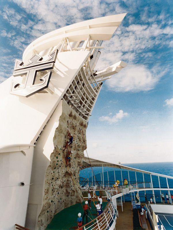 Rock wall on Navigator of the Seas