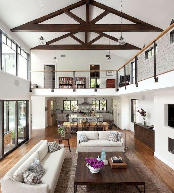 80+ Stunning Rustic Farmhouse Dining Room Set Furniture Ideas carribeanpic.com