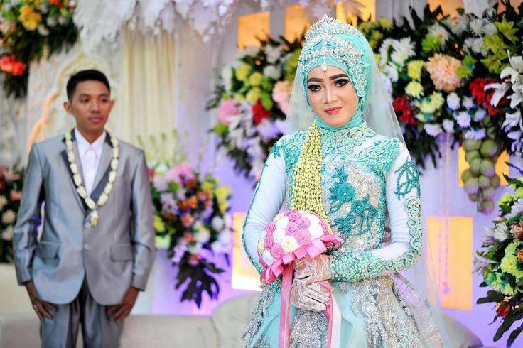 "410 Suka, 1 Komentar - ASRI HIJAB (@asri_hijab_wedding_organizer) di Instagram: ""JUJUR ITU INDAH Pengantin asli ASRI HIJAB _RIAS PENGANTIN KHUSUS HIJAB, SPESIALIS MAKE UP NO…"""