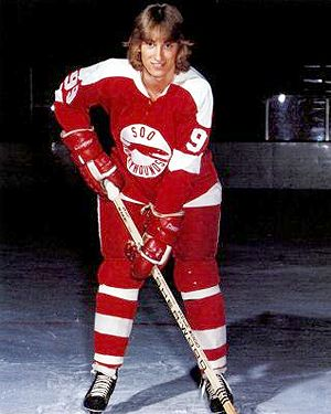 """It was 1977 when the Sault Ste Marie Greyhounds drafted a 16 year old, 5' 8"""", 155 pound Wayne Gretzky. History ensues..."""