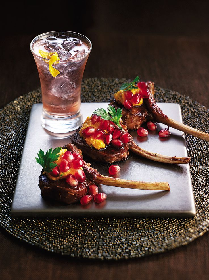 These Moroccan-inspired lamb cutlets make lovely canapés, sure to impress at your next dinner party.