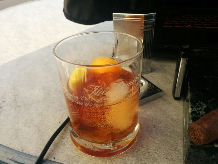 MacAllan 18 Old Fashioned.