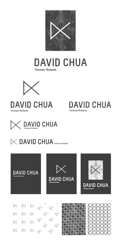 Logo proposal // David Chua - Visionary Shokunin #logotipo #identidad #identidadcorporativa #diseño grafico #diseño #green #verde #corporate #design #corporatedesign #logo #identity #branding #pattern