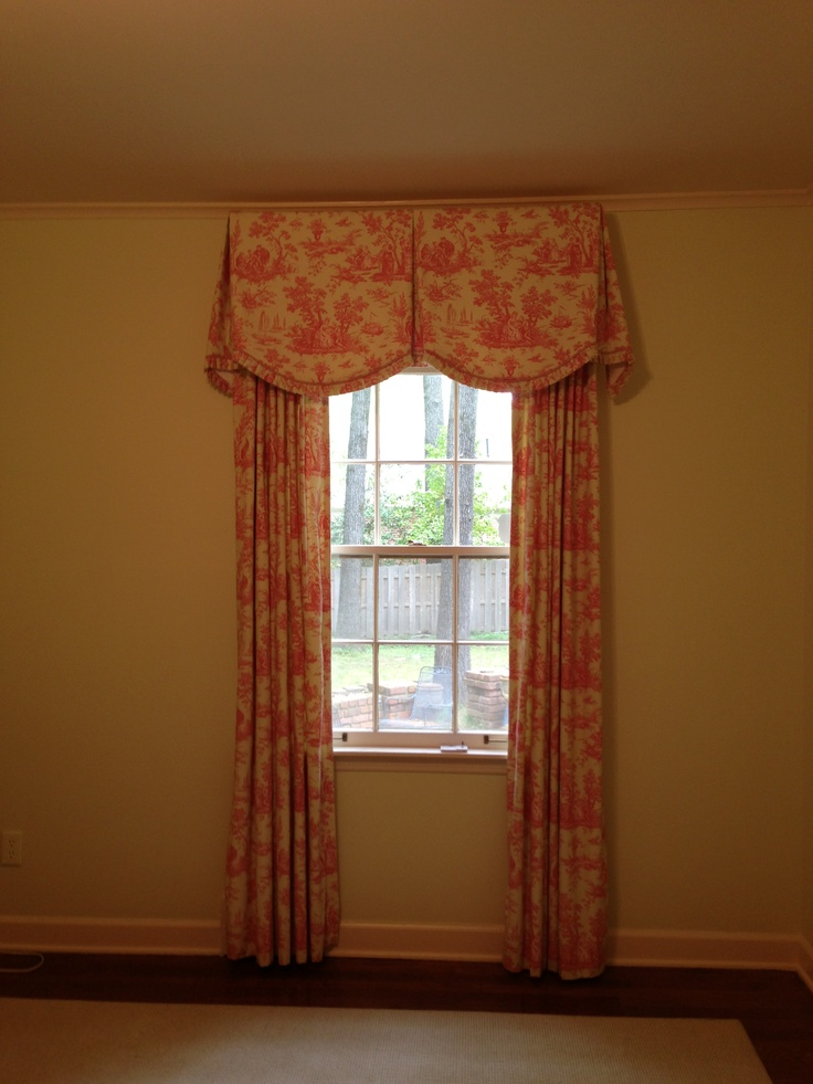 Elegant French Country Window Treatment