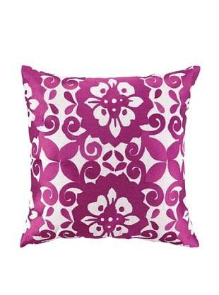 Jennifer Paganelli Cassandra Embellished Down Pillow, Pink, 20