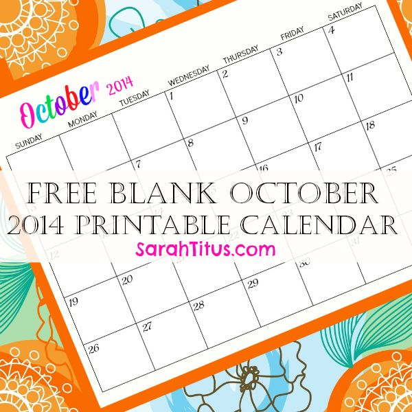 plan your menu super easy with this free blank online calendar july 2014 sarah titus