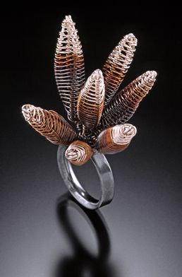Ring | Kathy Frey. 'Anemone'